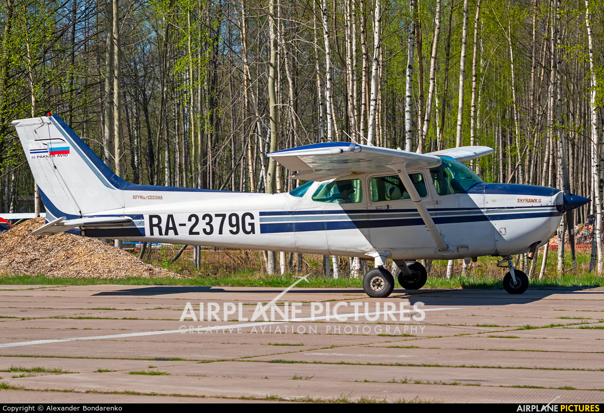 Private RA-2379G aircraft at Off Airport - Russia