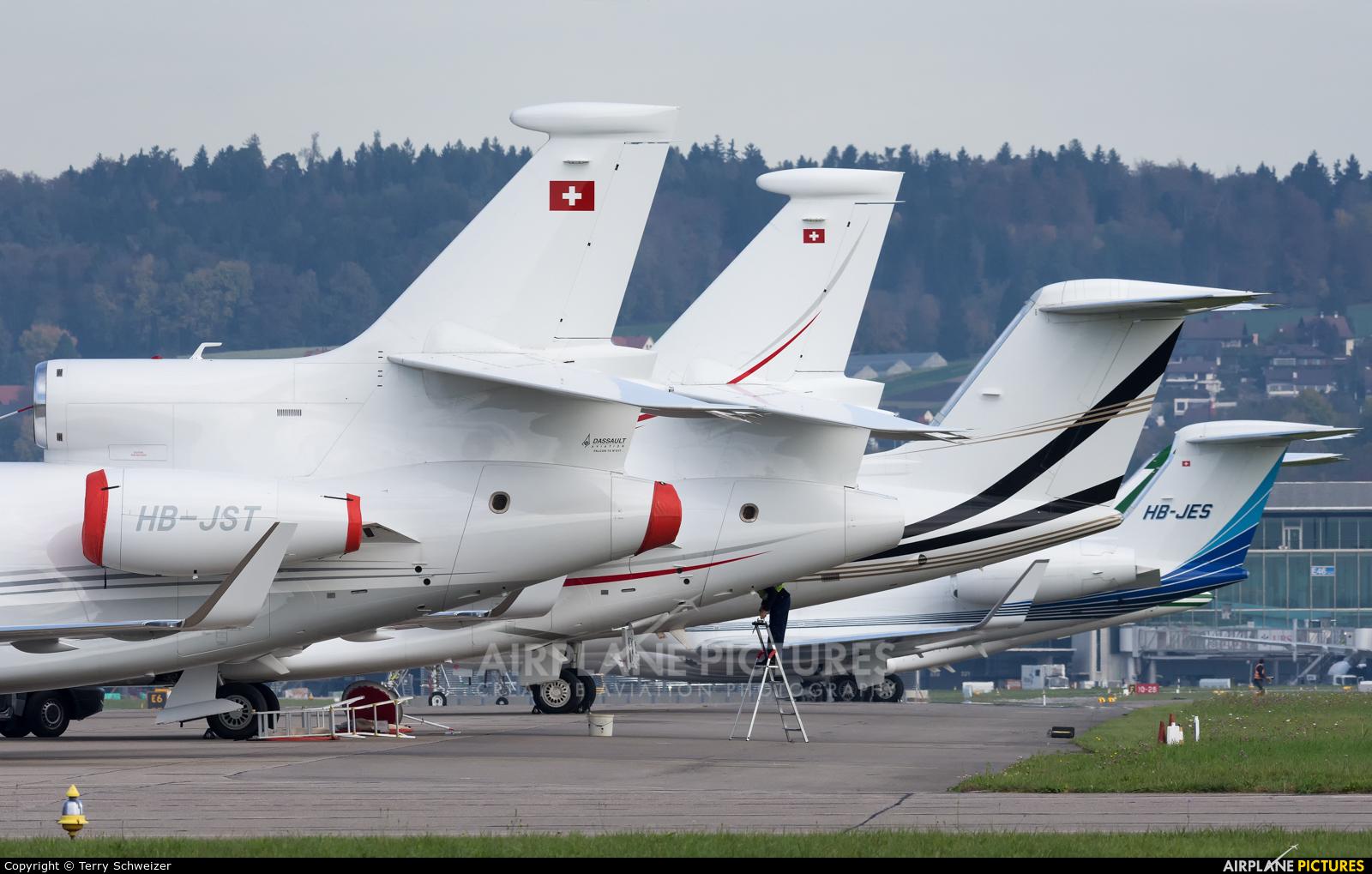 Cat Aviation HB-JST aircraft at Zurich