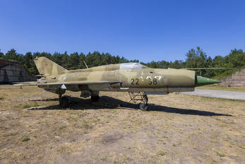 2238 - Germany - Air Force Mikoyan-Gurevich MiG-21PFM