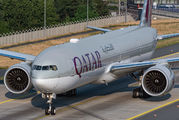 A7-BEQ - Qatar Airways Boeing 777-300 aircraft