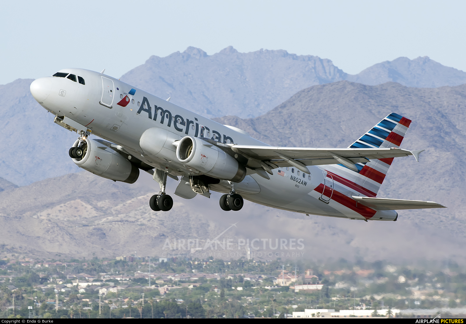 American Airlines N802AW aircraft at Phoenix - Sky Harbor Intl