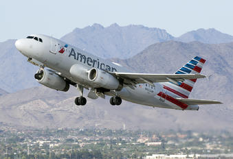 N802AW - American Airlines Airbus A319