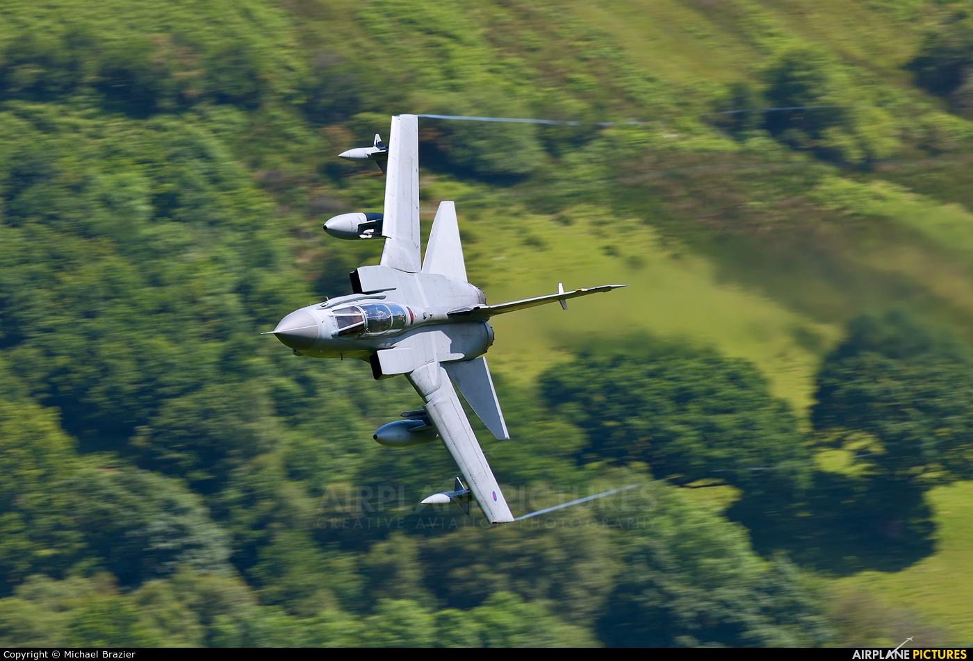 Royal Air Force ZG752 aircraft at Machynlleth Loop - LFA 7