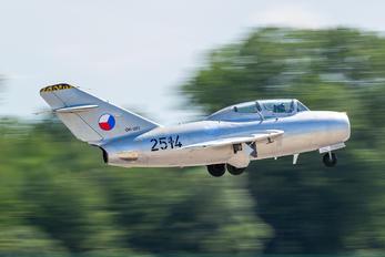 OK-UTI - Private Mikoyan-Gurevich MiG-15 UTI