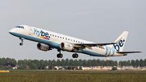 G-FBEL - Flybe Embraer ERJ-195 (190-200) aircraft