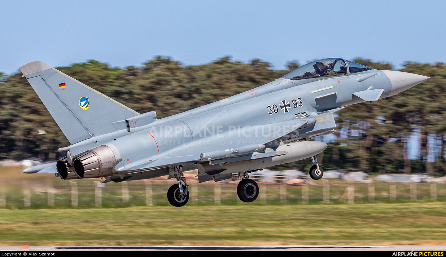 Germany - Air Force 30+93 aircraft at Lossiemouth