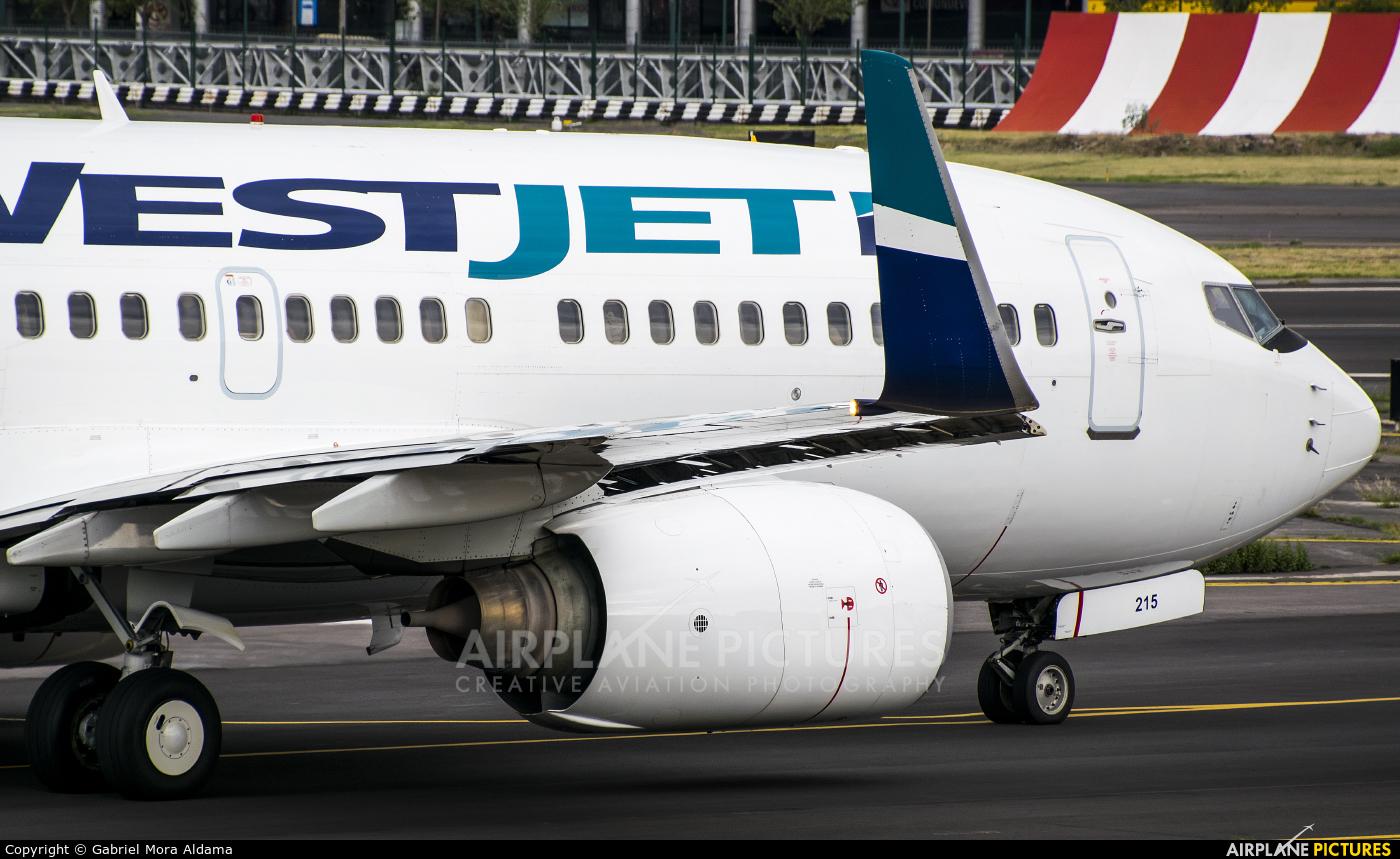 WestJet Airlines C-GWBJ aircraft at Mexico City - Licenciado Benito Juarez Intl