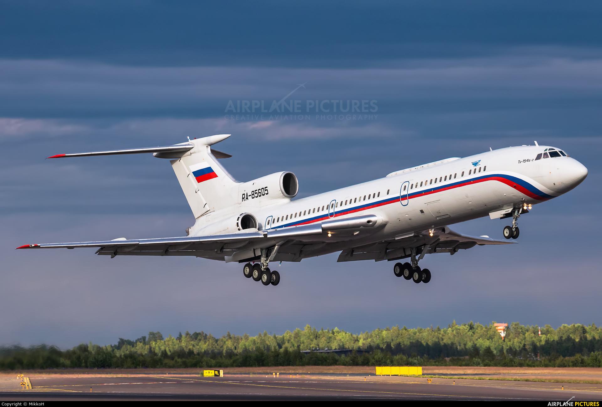 Russia - Air Force RA-85605 aircraft at Helsinki - Vantaa