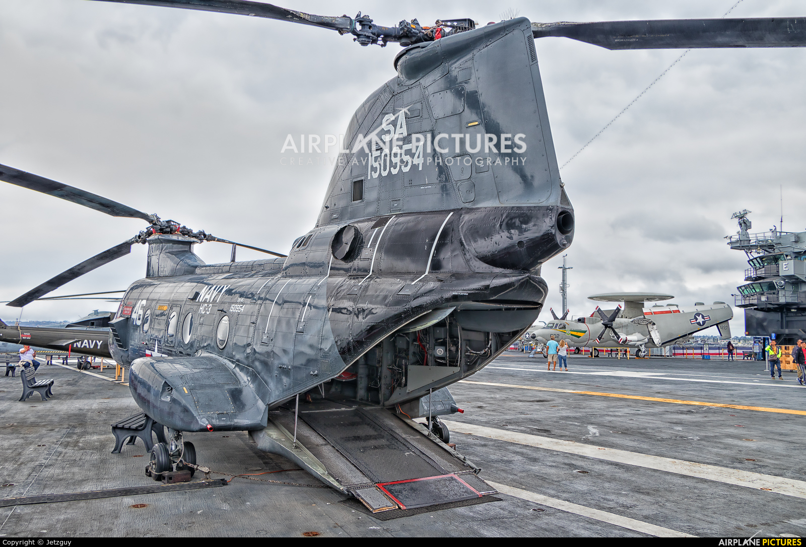 USA - Navy 150954 aircraft at San Diego - USS Midway Museum