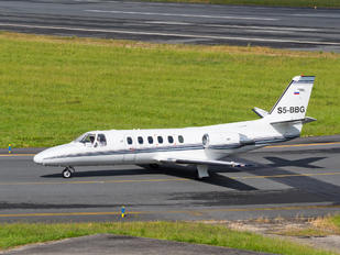 S5-BBG - Gio Business Aviation Cessna 550 Citation II