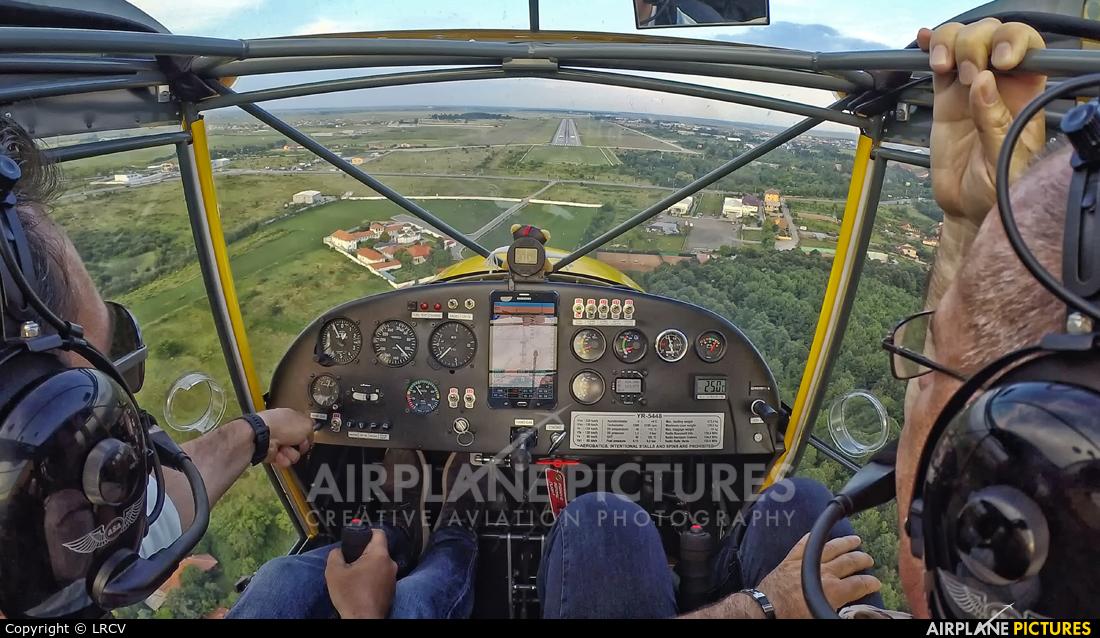 Private YR-5448 aircraft at Craiova