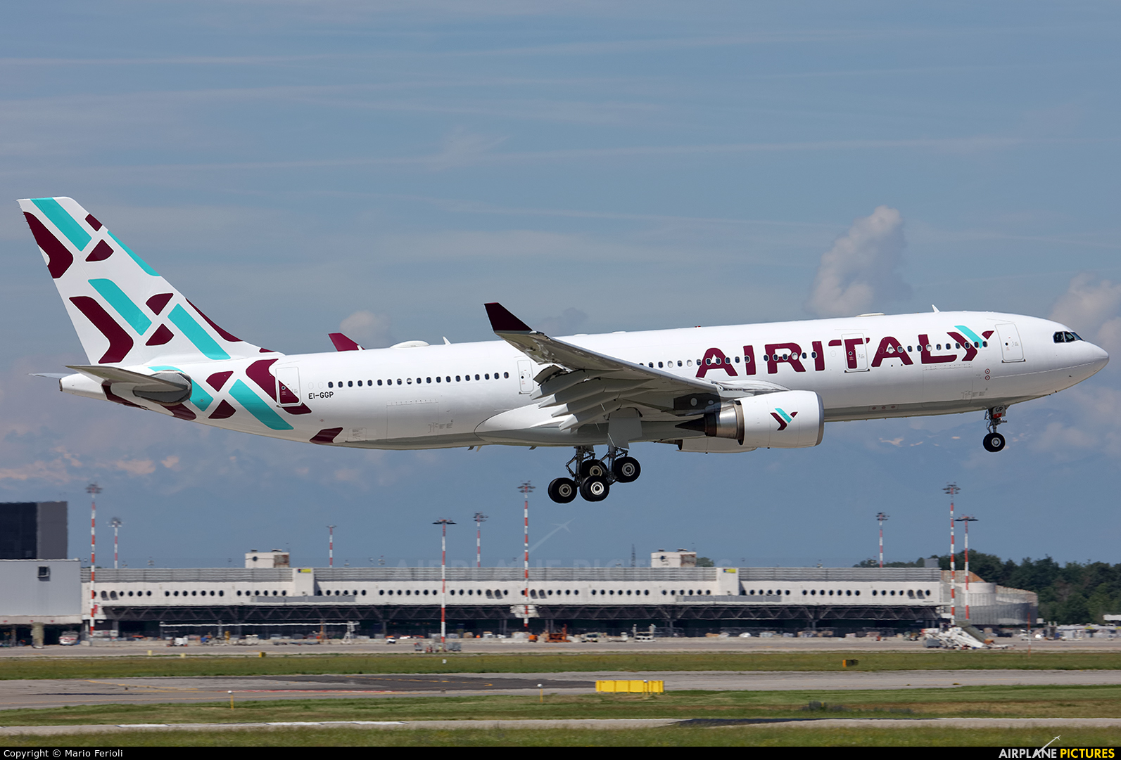 Air Italy EI-GGP aircraft at Milan - Malpensa