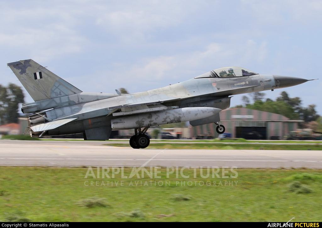 Greece - Hellenic Air Force 114 aircraft at Andravida AB