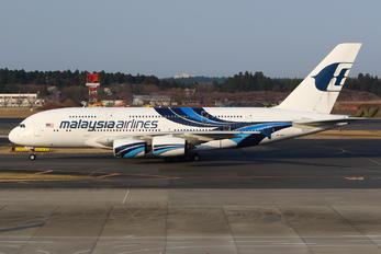 9M-MNA - Malaysia Airlines Airbus A380