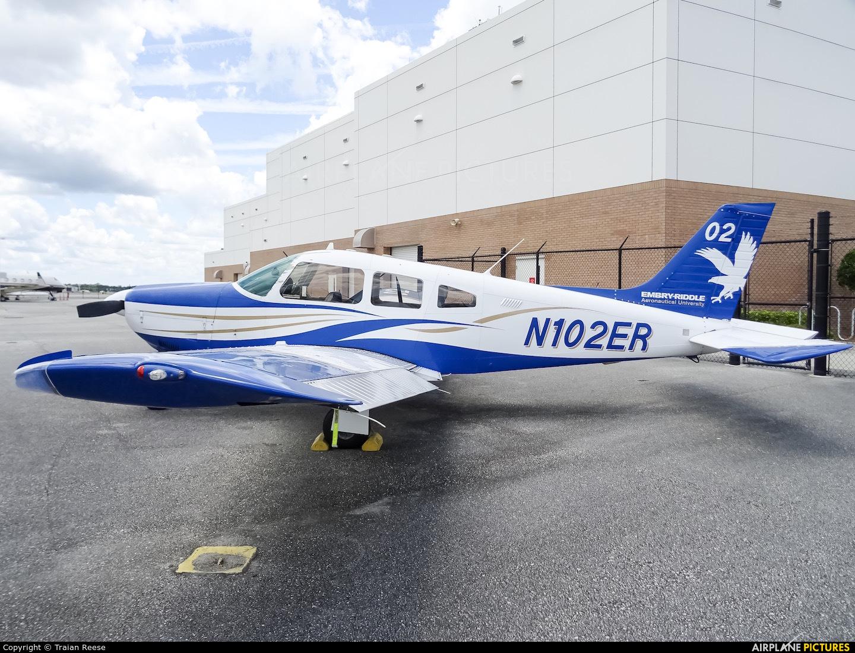Private N102ER aircraft at Daytona Beach Intl