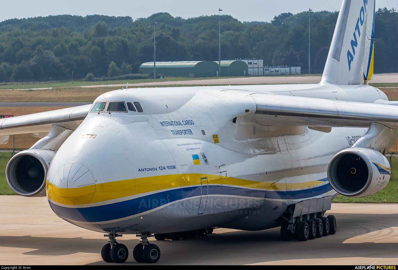 Antonov Airlines /  Design Bureau UR-82008 aircraft at Eindhoven