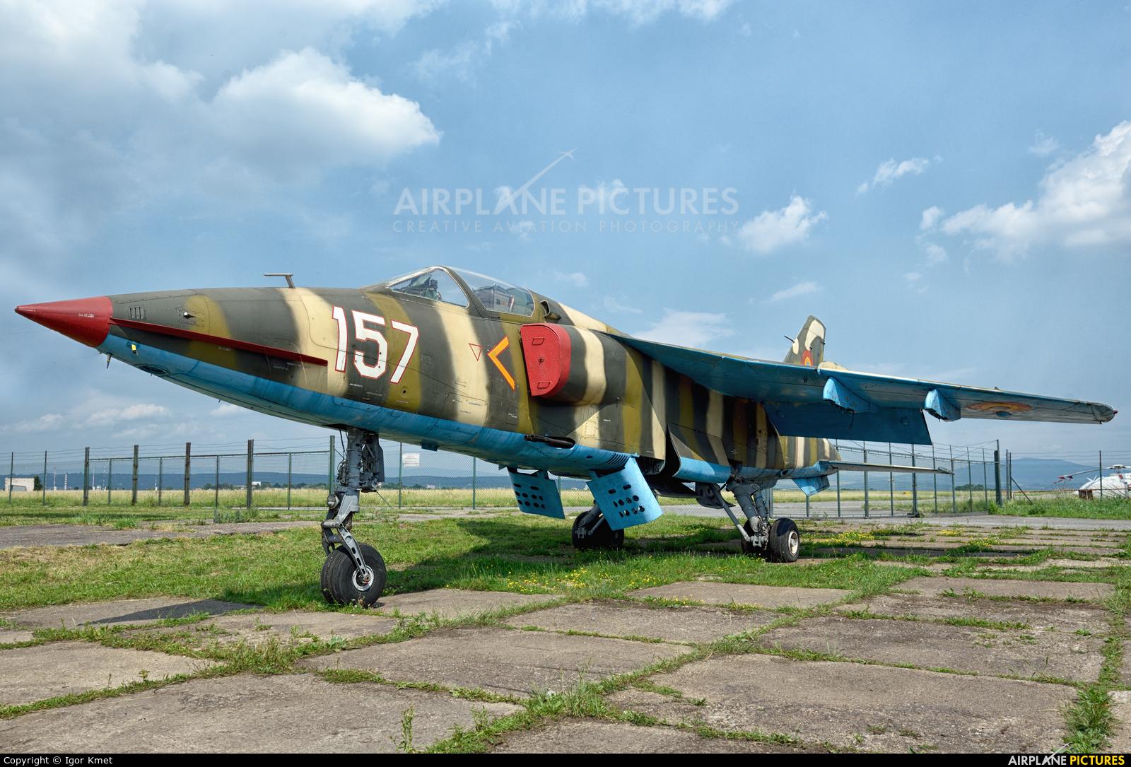 Romania - Air Force 157 aircraft at Košice - Barca