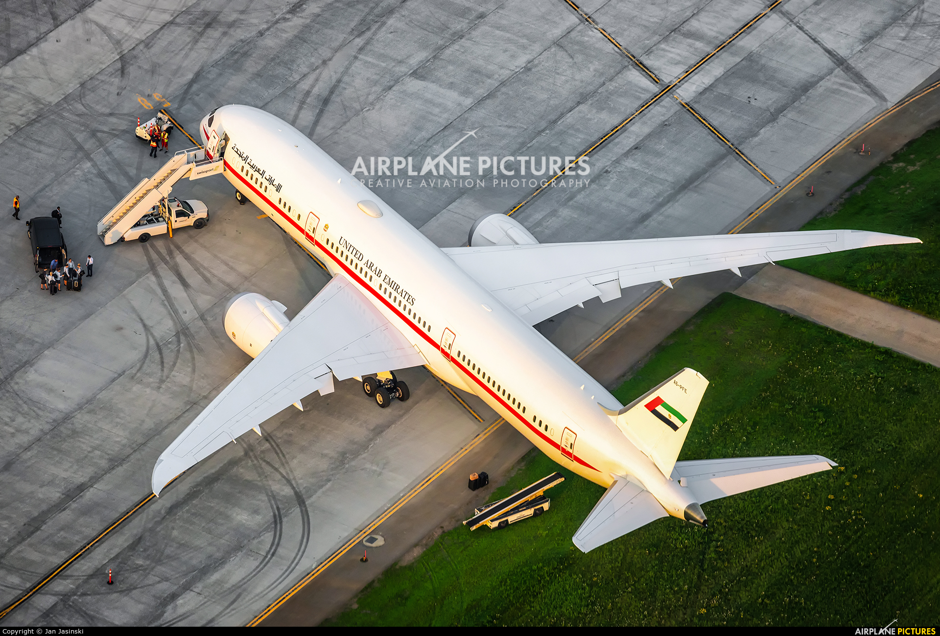 Abu Dhabi Amiri Flight A6-PFE aircraft at Ottawa - Macdonald-Cartier Intl, ON