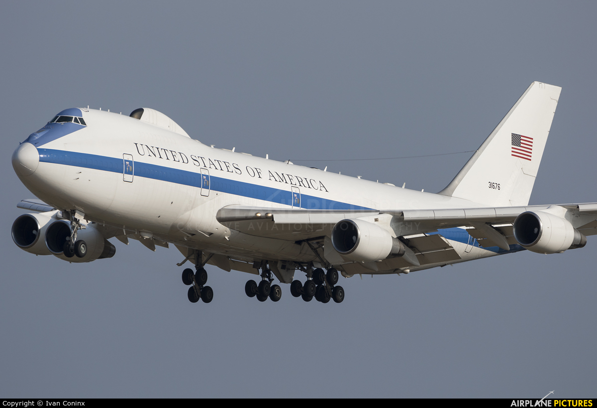 USA - Air Force 73-1676 aircraft at Brussels - Zaventem