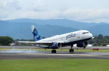 N612JB - JetBlue Airways Airbus A320