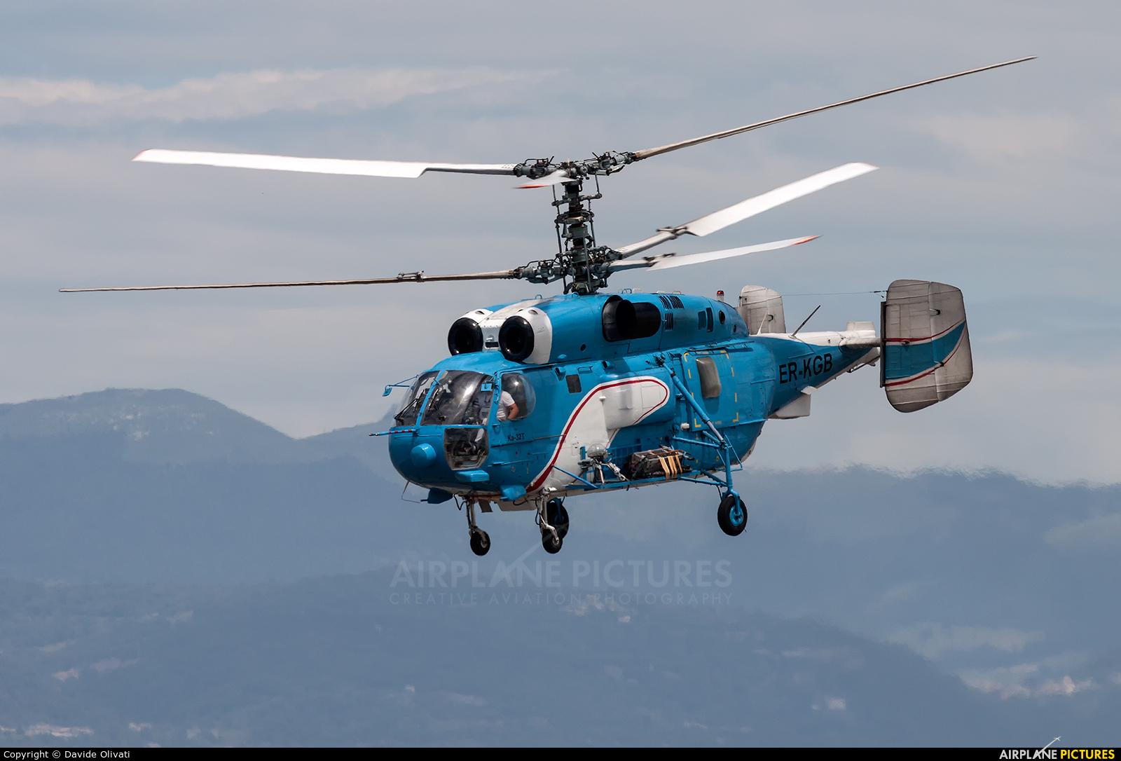 Private ER-KGB aircraft at Verona - Villafranca