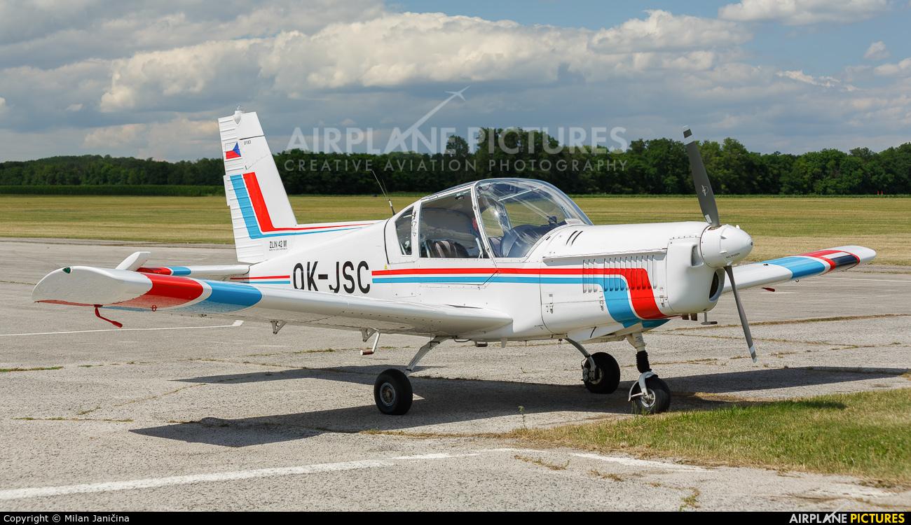Aeroklub Czech Republic OK-JSC aircraft at Trnava- Boleráz
