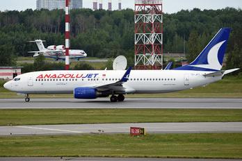 TC-JFY - AnadoluJet Boeing 737-800