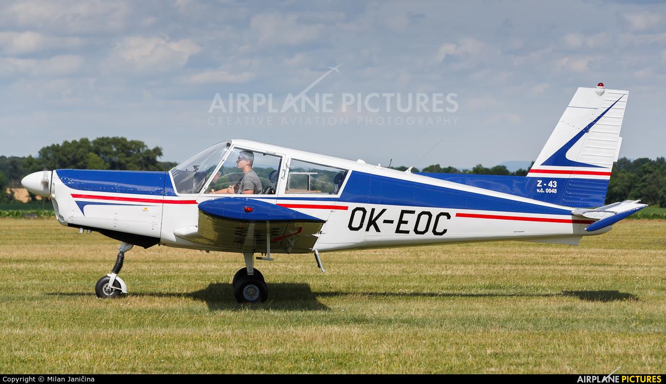 Aeroklub Czech Republic OK-EOC aircraft at Trnava- Boleráz