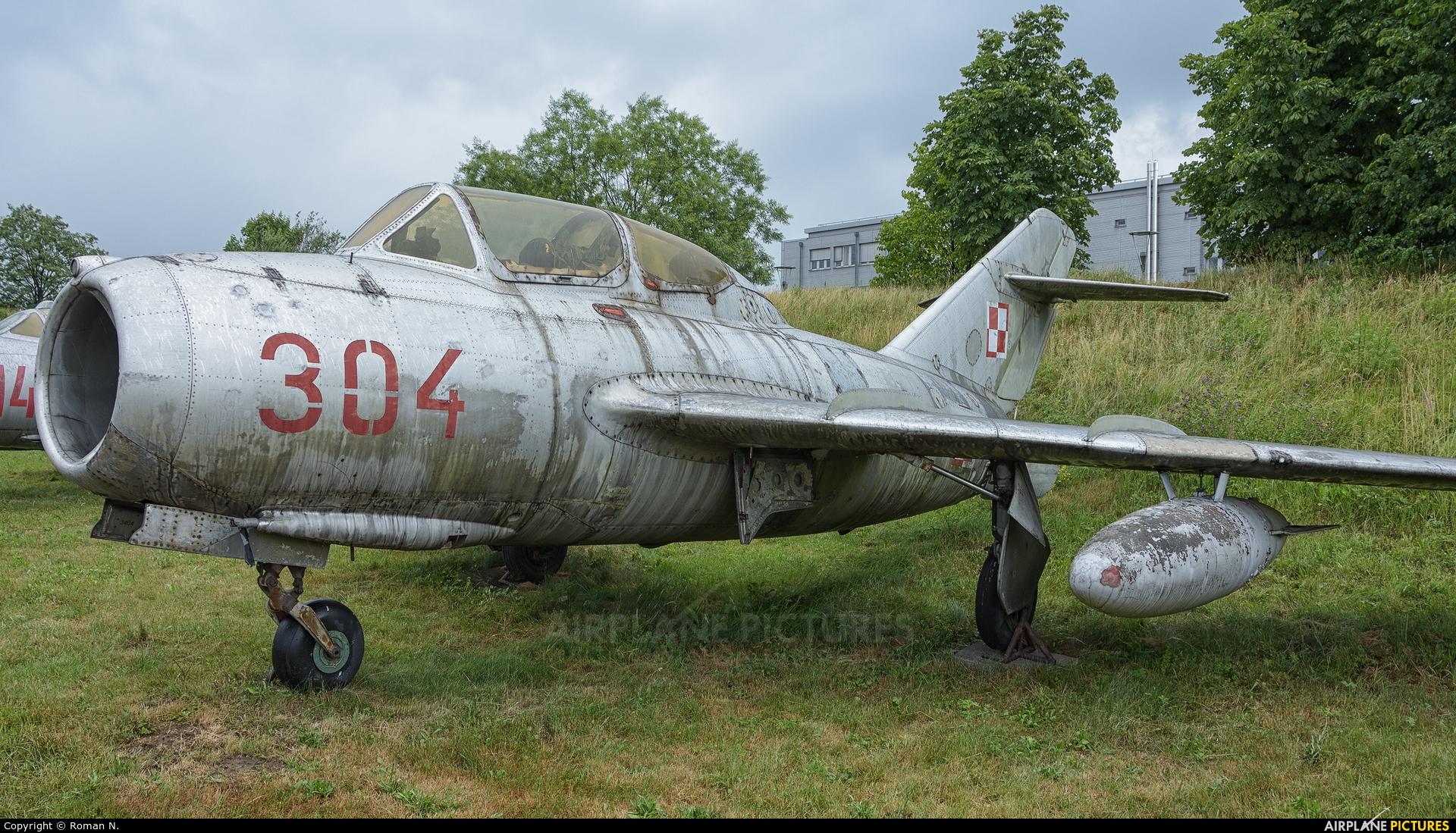 Poland - Air Force 304 aircraft at Kraków, Rakowice Czyżyny - Museum of Polish Aviation