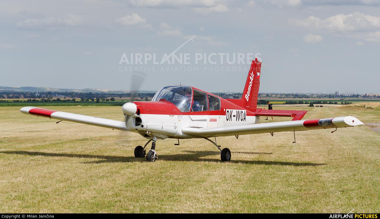 Bemoair OK-WOA aircraft at Trnava- Boleráz