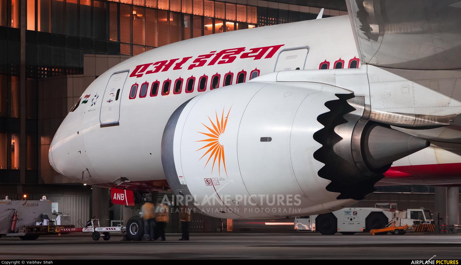 Air India VT-ANB aircraft at Mumbai - Chhatrapati Shivaji Intl