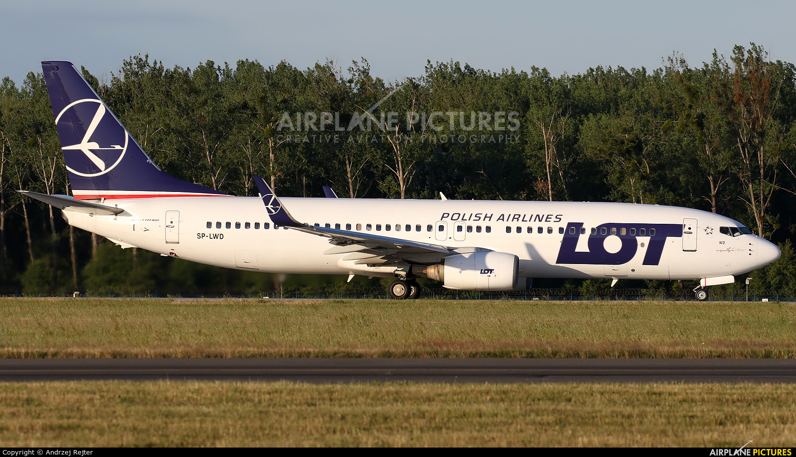 LOT - Polish Airlines SP-LWD aircraft at Wrocław - Copernicus