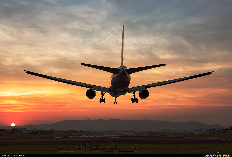 ANA - All Nippon Airways JA714A aircraft at Osaka - Itami Intl