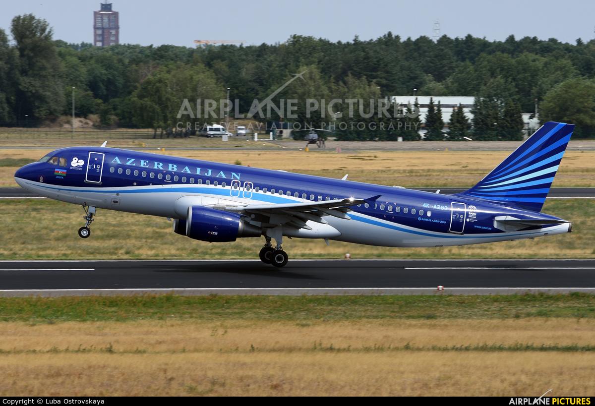 Azerbaijan Airlines 4K-AZ83 aircraft at Berlin - Tegel