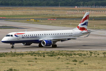 G-LCYL - British Airways - City Flyer Embraer ERJ-190 (190-100)