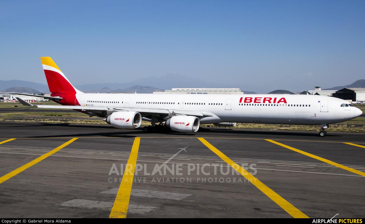 Iberia EC-JPU aircraft at Mexico City - Licenciado Benito Juarez Intl