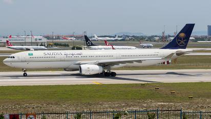 HZ-AQ16 - Saudi Arabian Airlines Airbus A330-300