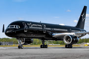 Rare visit of TAG Aviation B757 to Helsinki title=