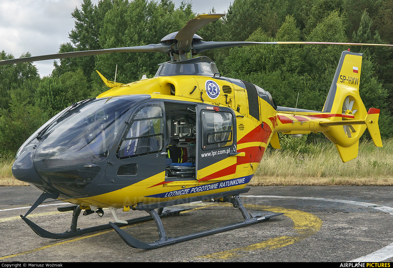 Polish Medical Air Rescue - Lotnicze Pogotowie Ratunkowe SP-HXW aircraft at