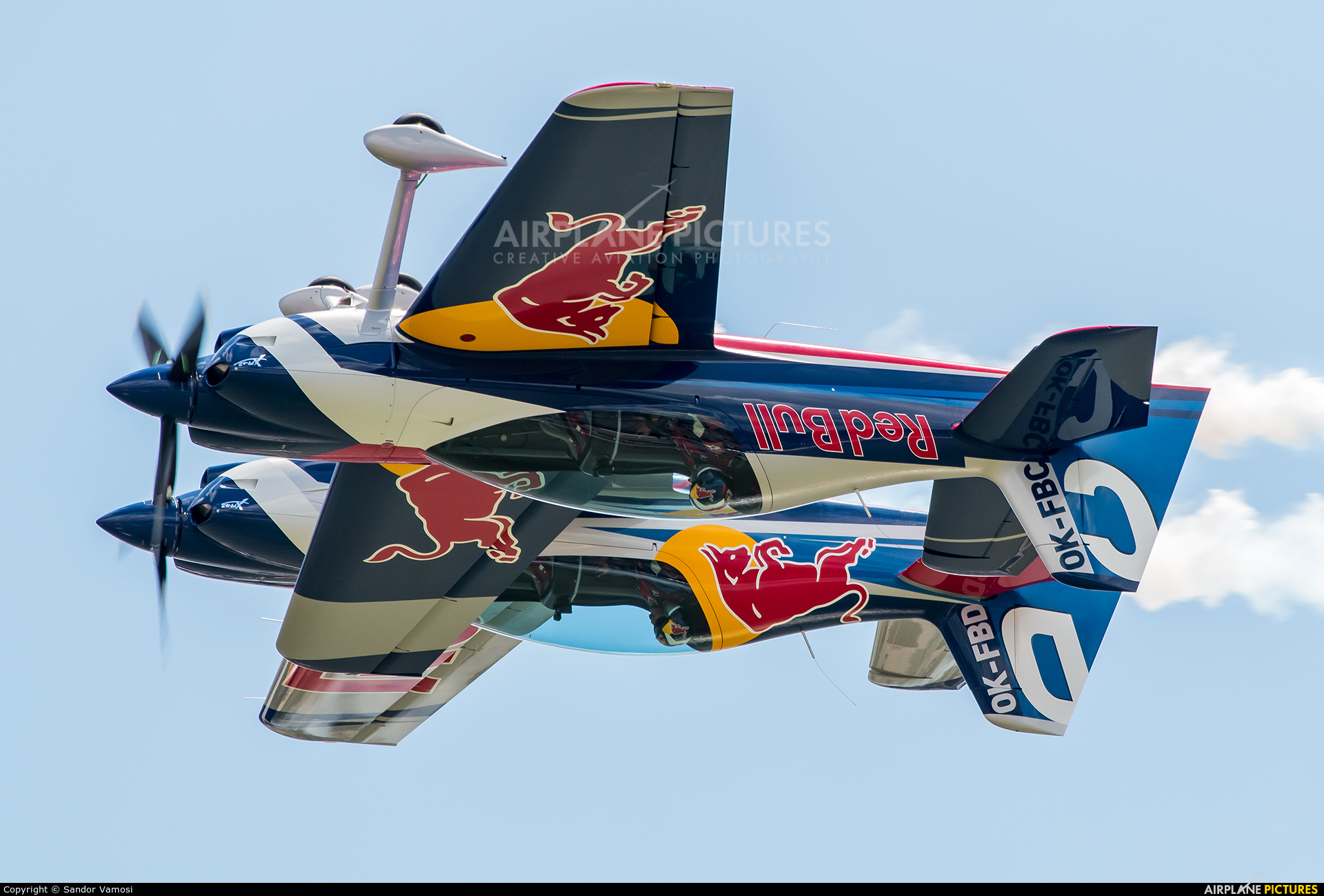 The Flying Bulls : Aerobatics Team OK-FBC aircraft at Off Airport - Hungary