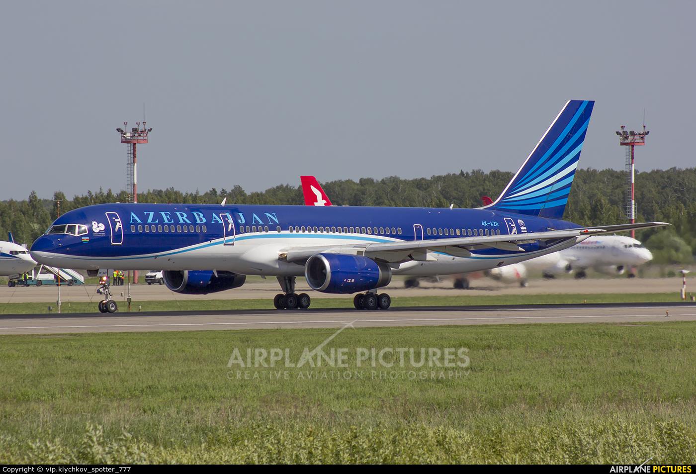 Azerbaijan Airlines 4K-AZ11 aircraft at Moscow - Domodedovo