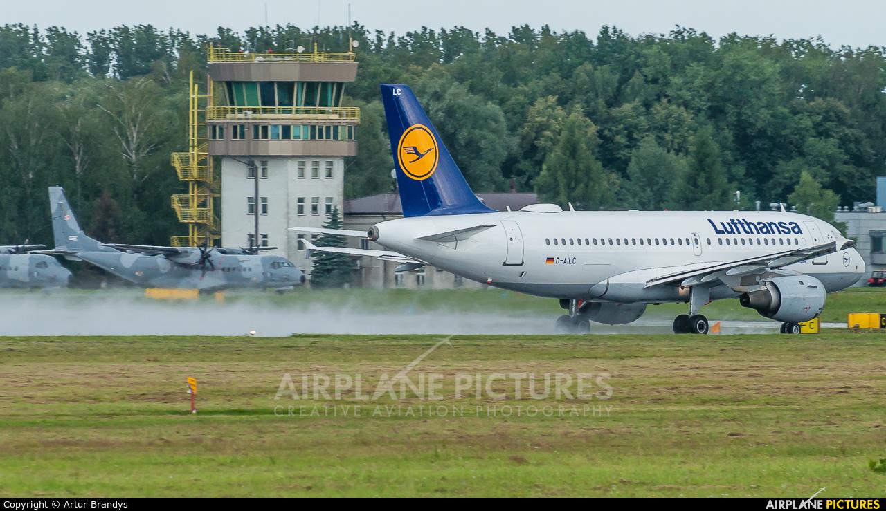 Lufthansa D-AILC aircraft at Kraków - John Paul II Intl