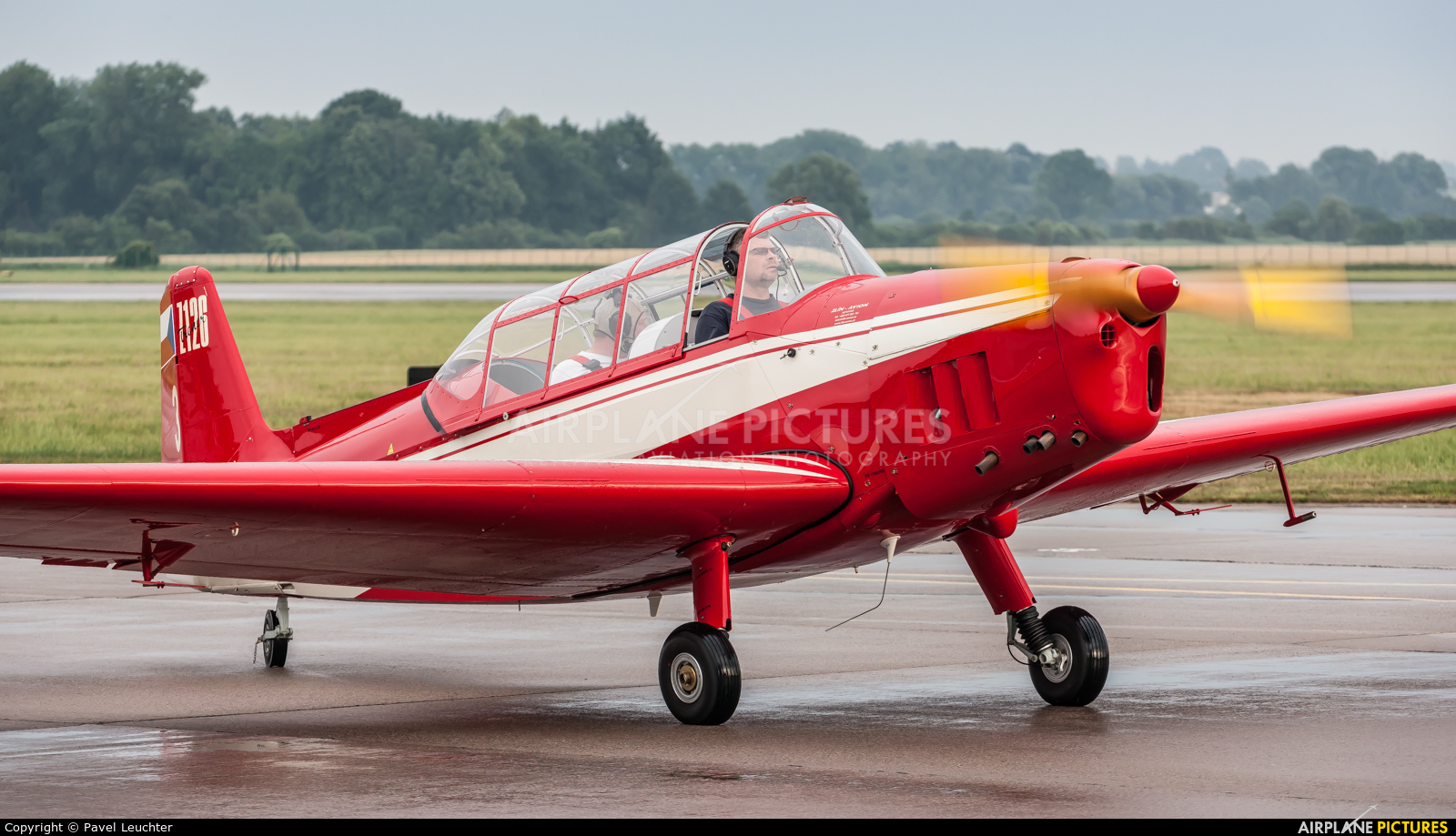 Private OK-IFO aircraft at Pardubice