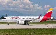 EC-MXU - Iberia Airbus A320 NEO aircraft
