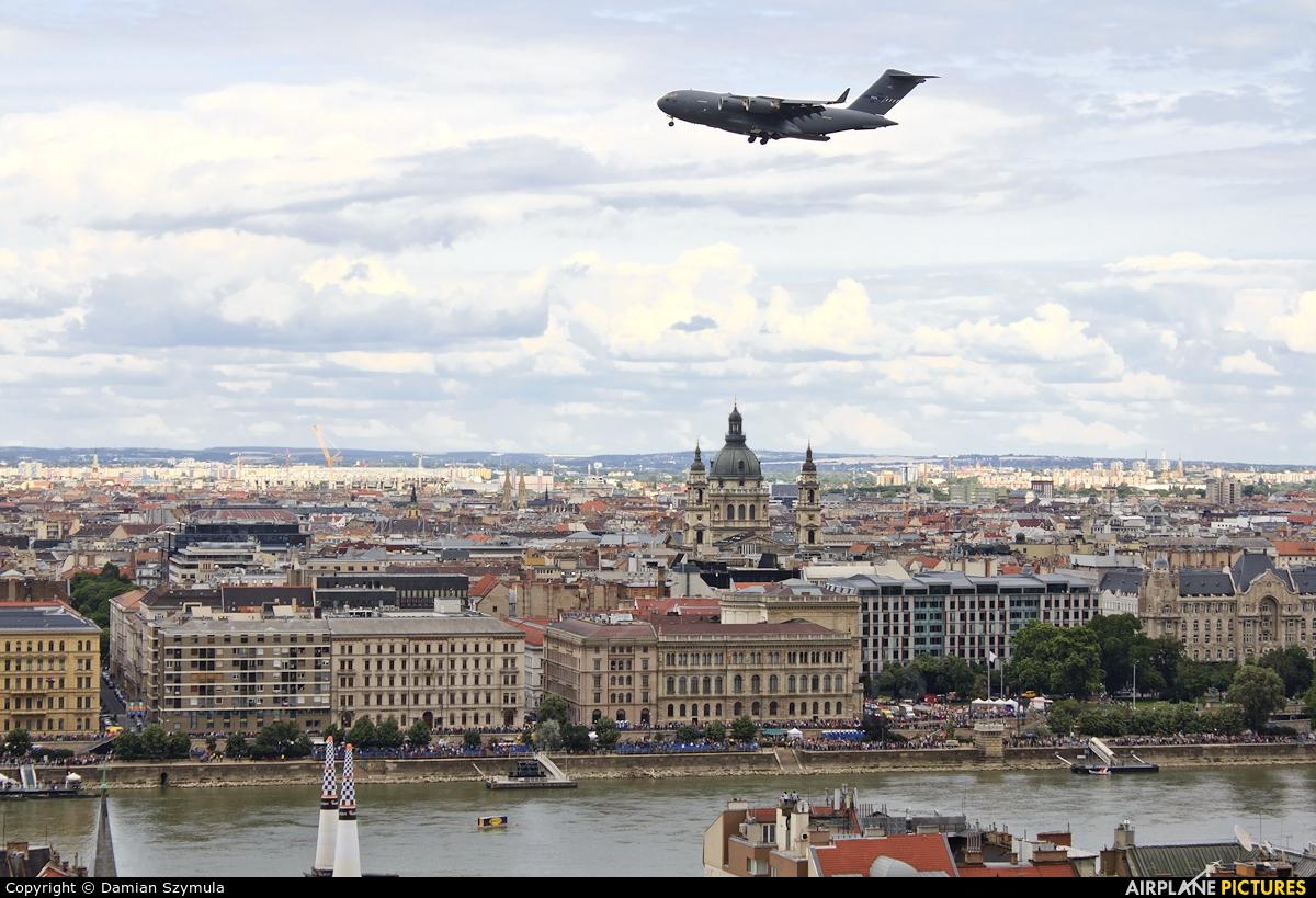 NATO SAC 02 aircraft at Off Airport - Hungary
