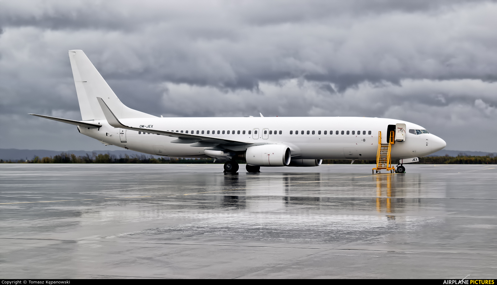 Air Explore OM-JEX aircraft at Rzeszów-Jasionka