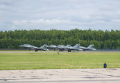 67 RED - Belarus - Air Force Mikoyan-Gurevich MiG-29UB aircraft