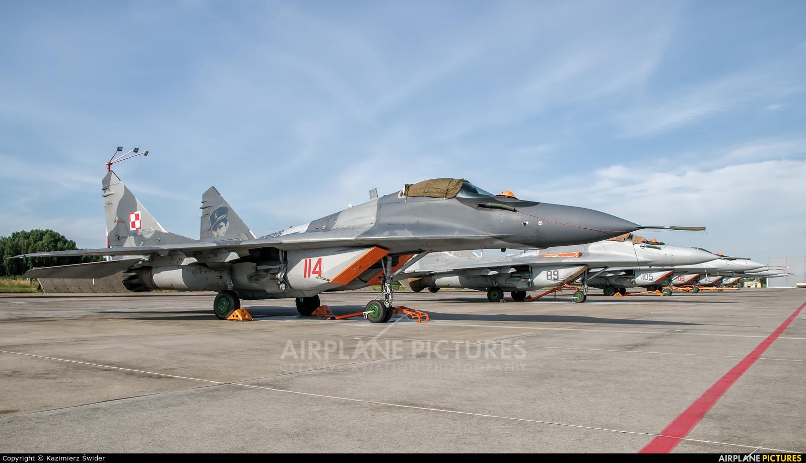 Poland - Air Force 114 aircraft at Malbork
