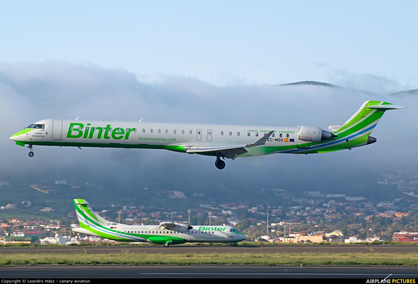 Binter Canarias EC-MOX aircraft at Tenerife Norte - Los Rodeos