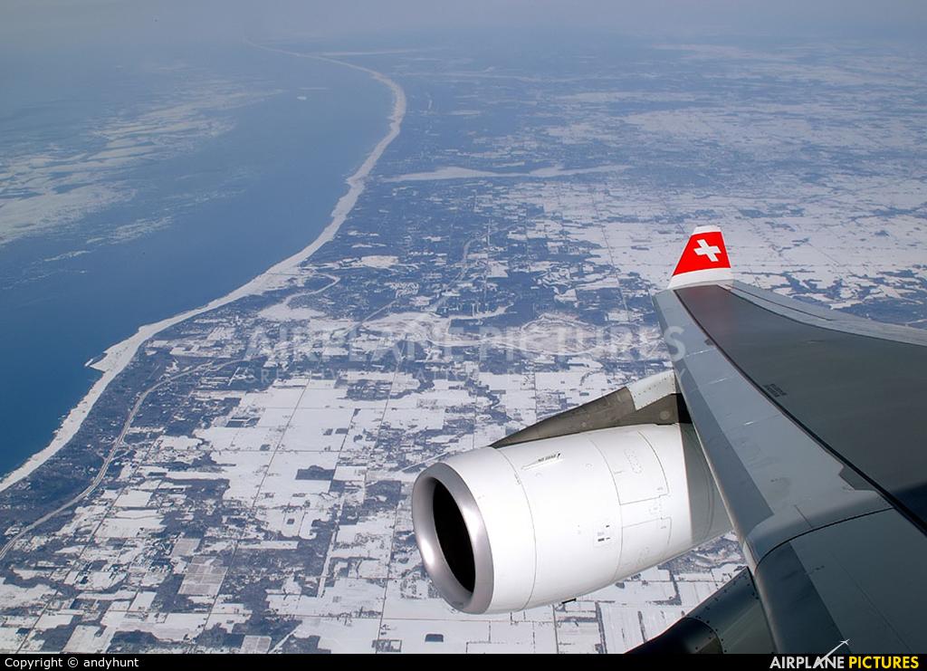 Swiss HB-JMG aircraft at Off Airport - Michigan